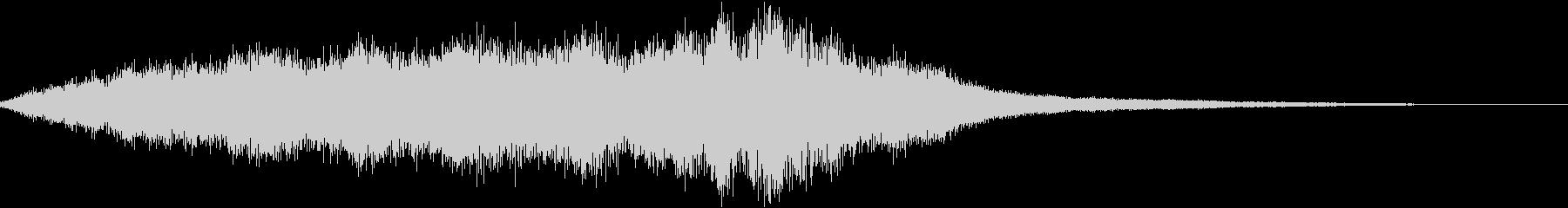 不安にさせる持続音20secの未再生の波形
