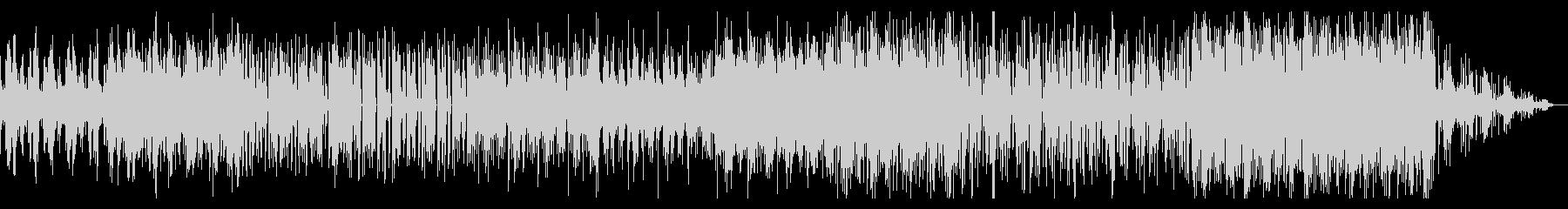 うねる音の主張の独特なシネマティックBGの未再生の波形