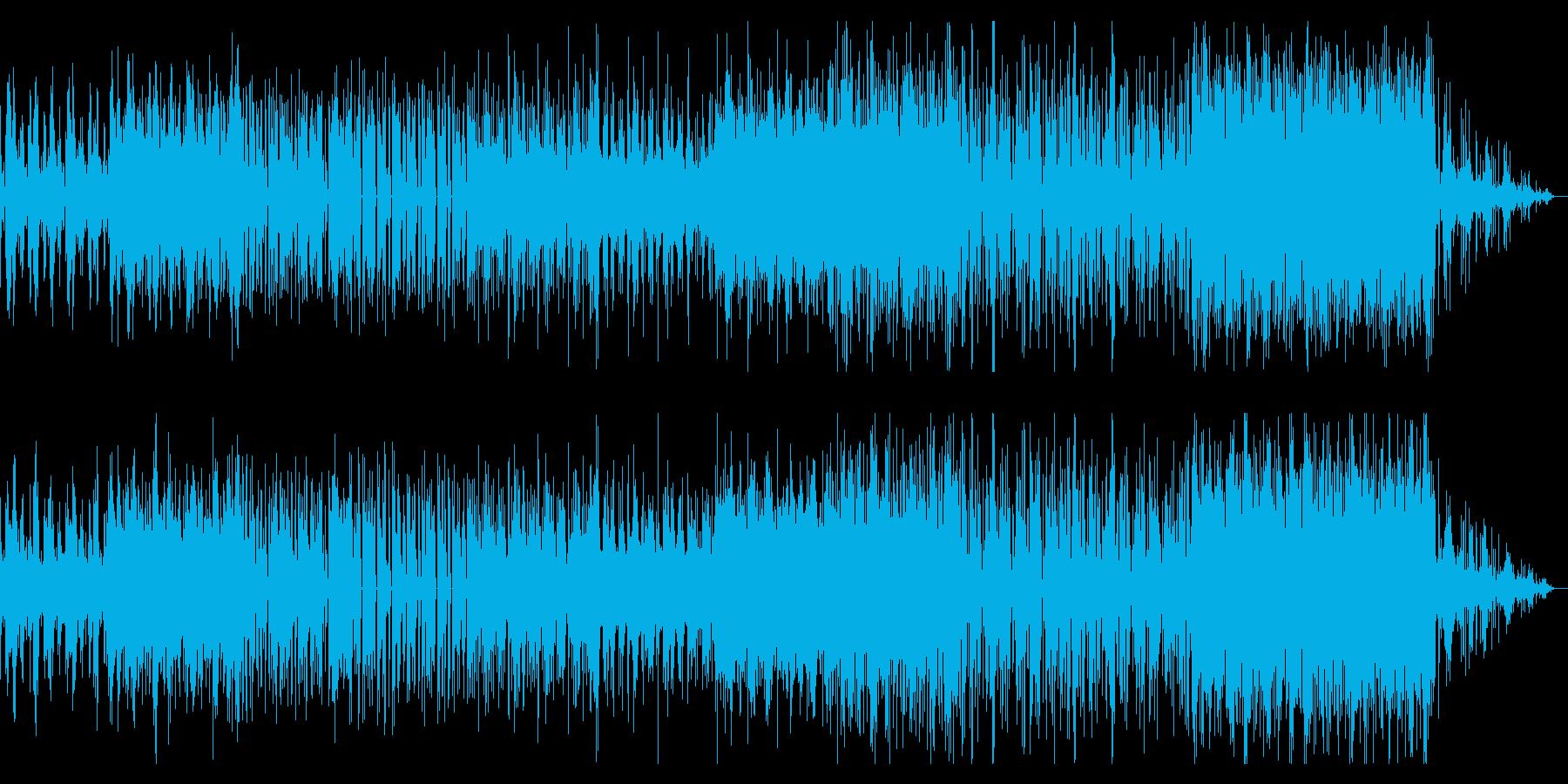 うねる音の主張の独特なシネマティックBGの再生済みの波形