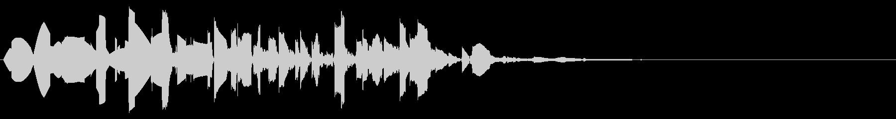 ファミコン風_ノック音3の未再生の波形