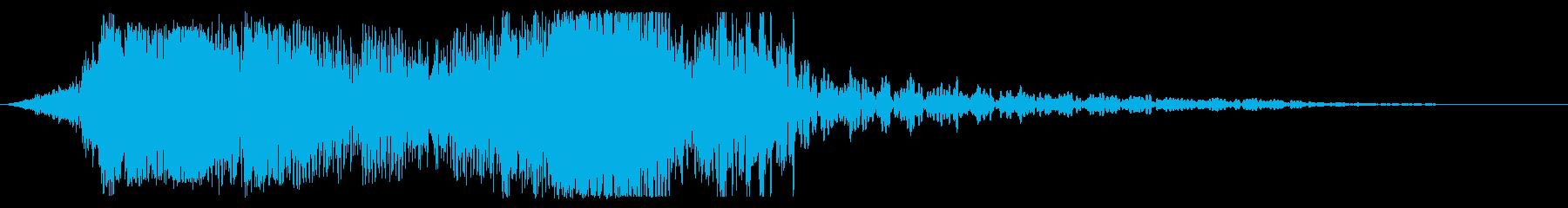 金属せん断変形の再生済みの波形