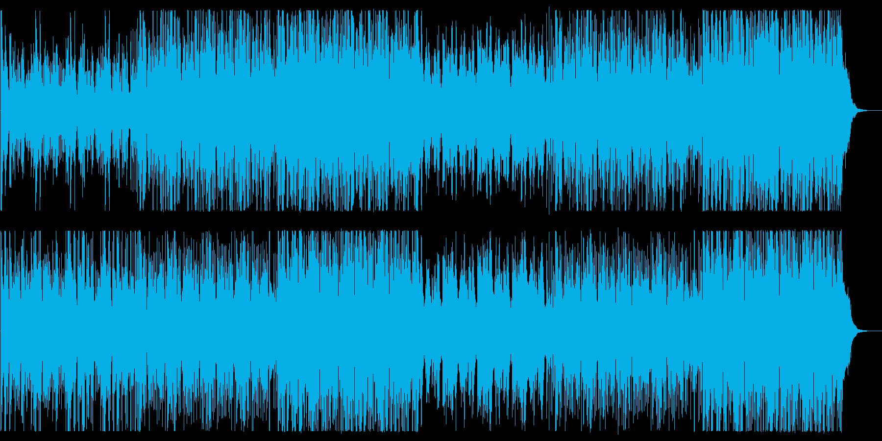 前向きで新しい旋律が美しいピアノの曲の再生済みの波形