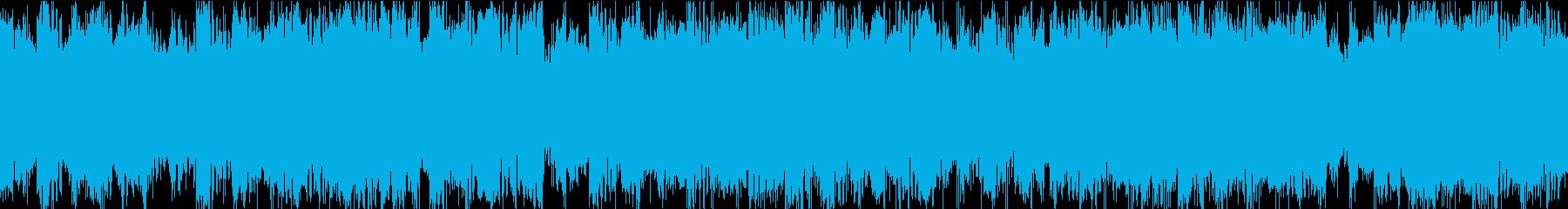 サスペンスやシリアスシーンに最適なループの再生済みの波形