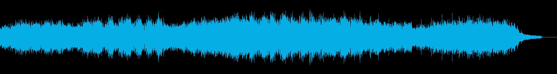 美しいシンプルなピアノ 不安から希望への再生済みの波形