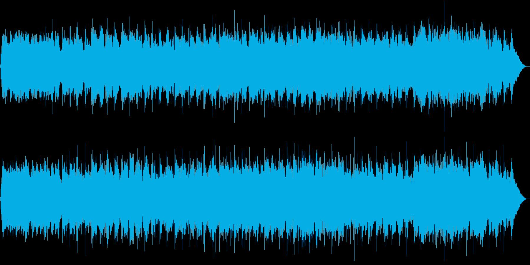 和風 しっとり感動バラード 尺八生演奏の再生済みの波形