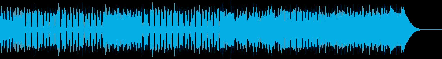 カントリー風マーチングギター01Eの再生済みの波形
