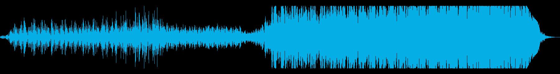 ウェーブテーブルシンセの独自サウンドですの再生済みの波形