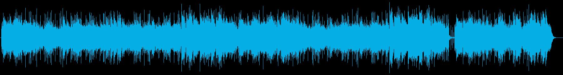 安らぎのリラクゼーションミュージックの再生済みの波形
