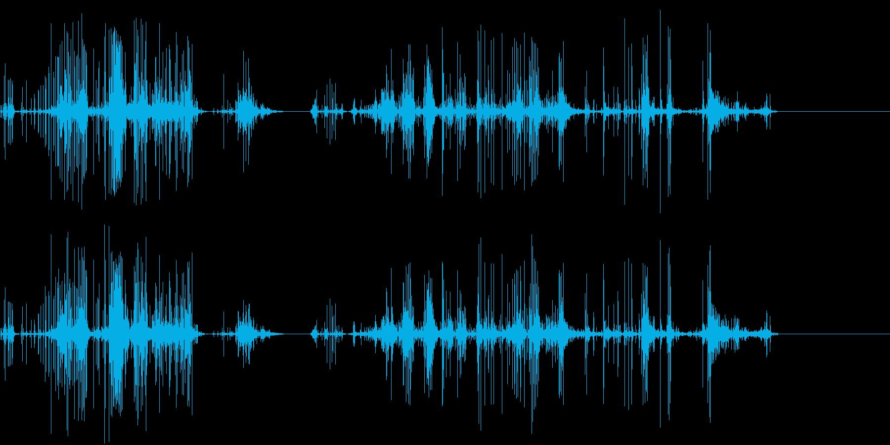 グチュグチュグチュ…の再生済みの波形