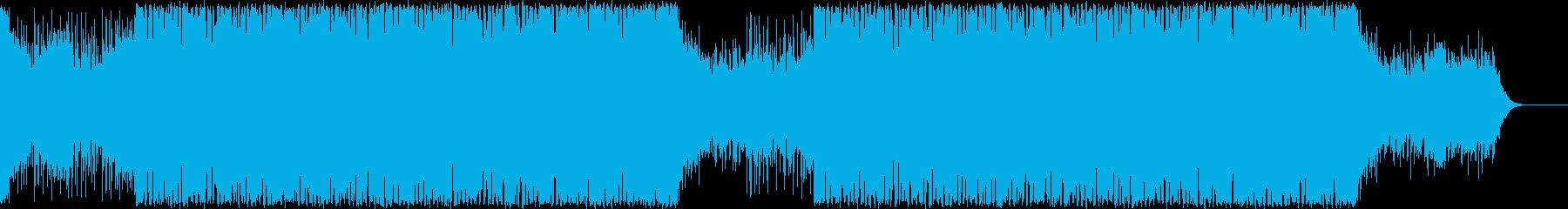 切ないメロディのEDM/トロピカルハウスの再生済みの波形