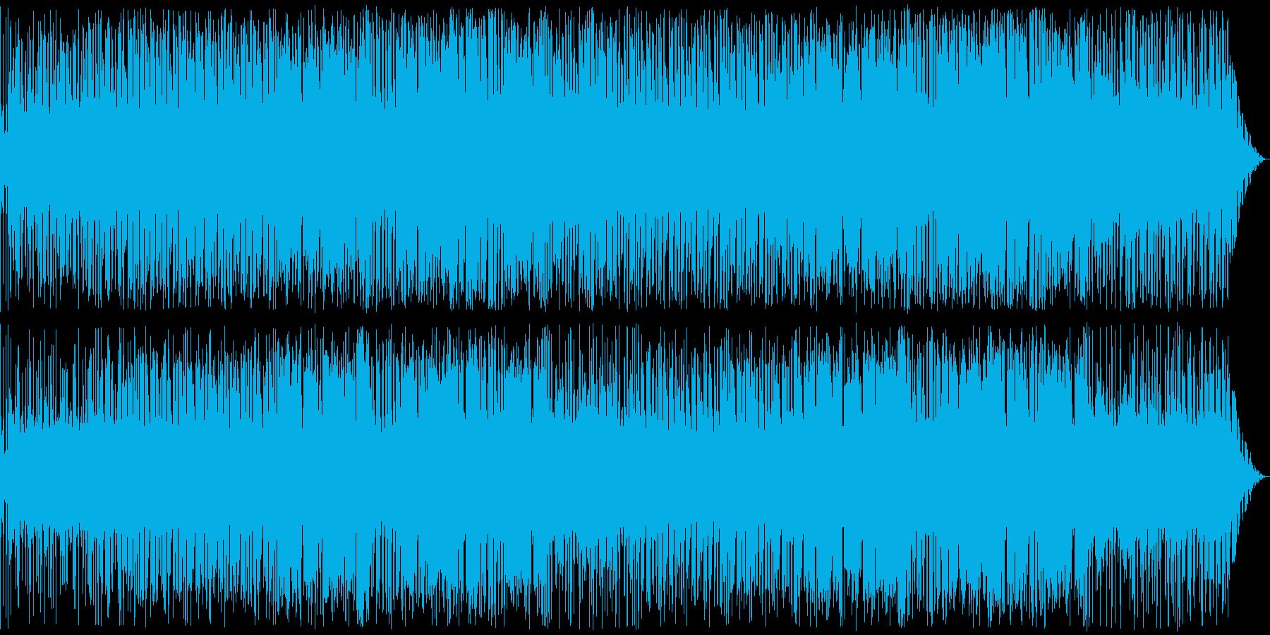 緊迫感のあるフリージャズ/トランペットの再生済みの波形