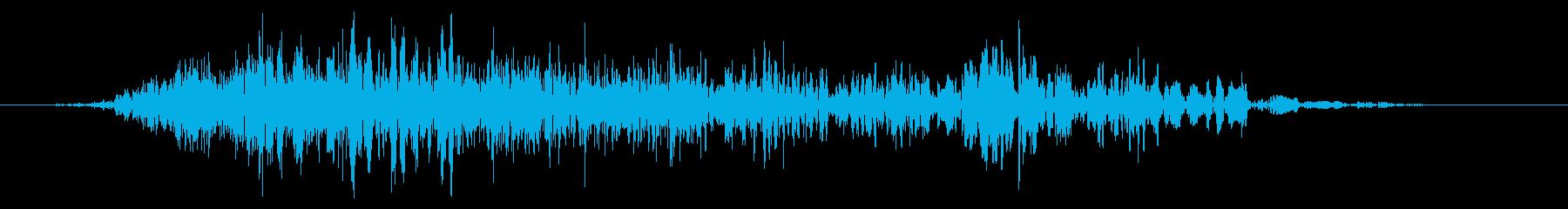 スライムなどが蠢く音タイプB#6の再生済みの波形