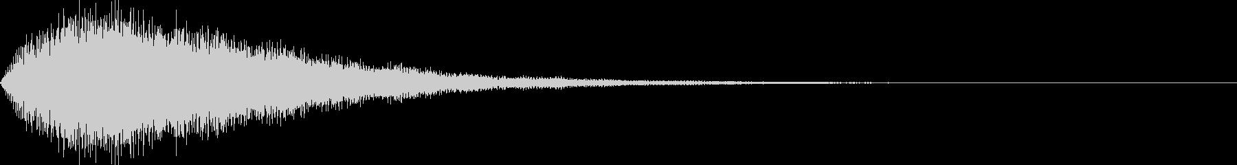 サウンドロゴ52_シンセ系の未再生の波形