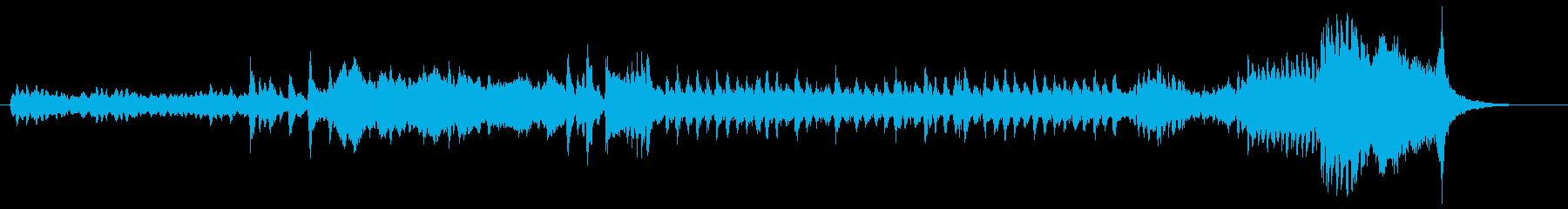 ハロウィンにぴったりな曲の再生済みの波形