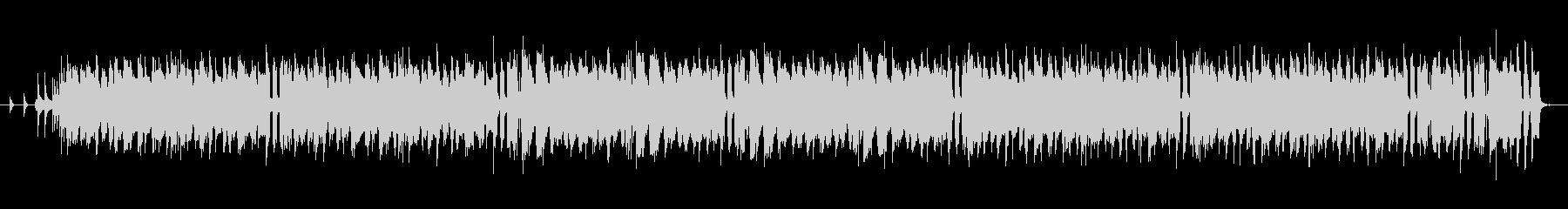 酒場イメージの軽快なケルト音楽の未再生の波形