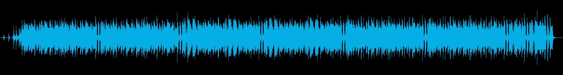 酒場イメージの軽快なケルト音楽の再生済みの波形