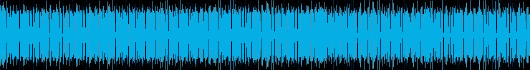 本格的、定番DUBダブミュージックの再生済みの波形