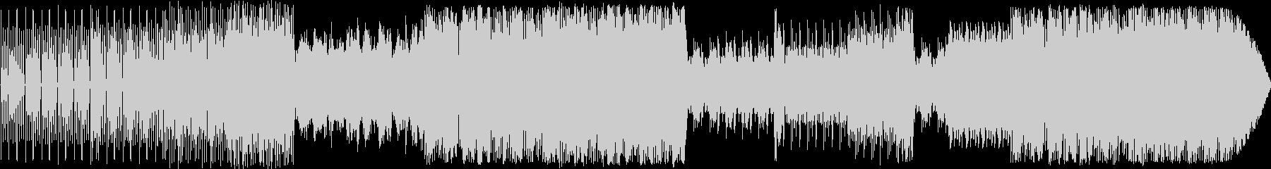 トークBGMにぴったりのデジタルビートの未再生の波形