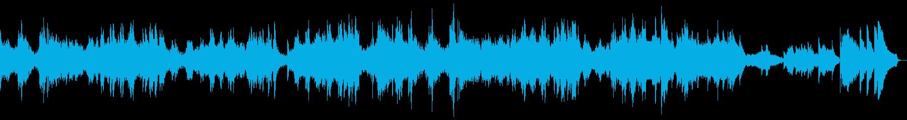 クラシック ハイテク 緊迫感 ピア...の再生済みの波形