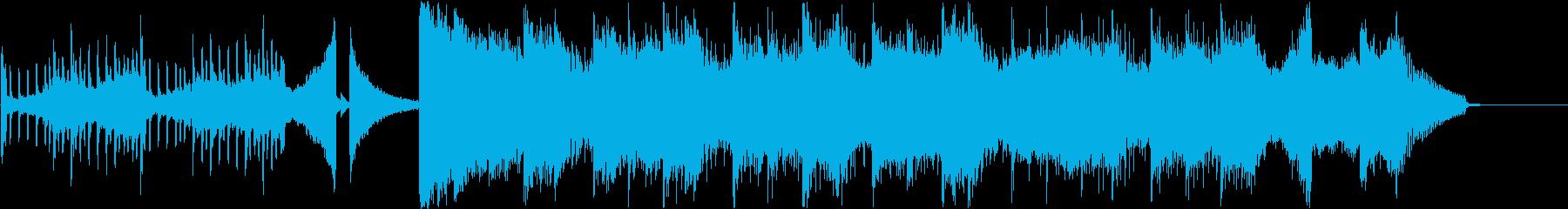 おしゃれなゆったエレクトロポップの再生済みの波形