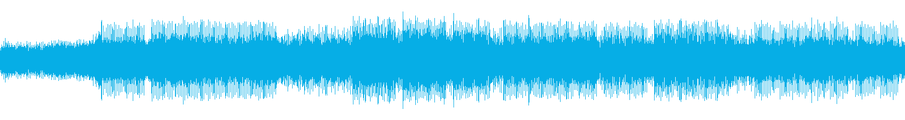 ファンタスティックなテクノポップの再生済みの波形