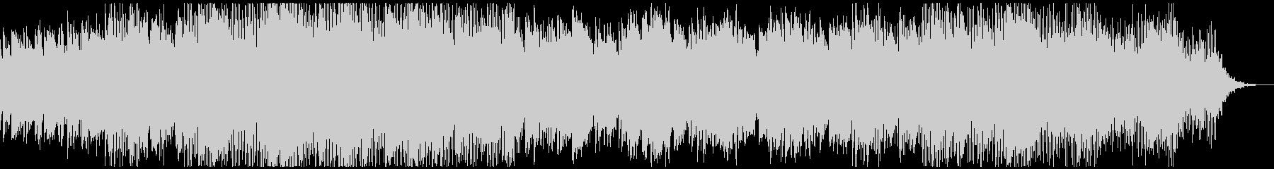 ワールドミュージック調チルアウトBGMの未再生の波形