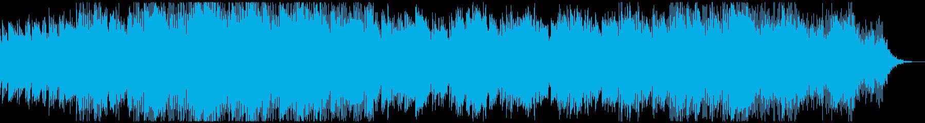 ワールドミュージック調チルアウトBGMの再生済みの波形