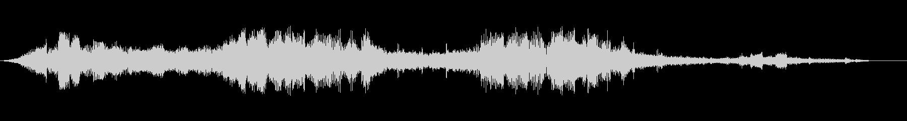 変調されたシンセパルススイープの未再生の波形
