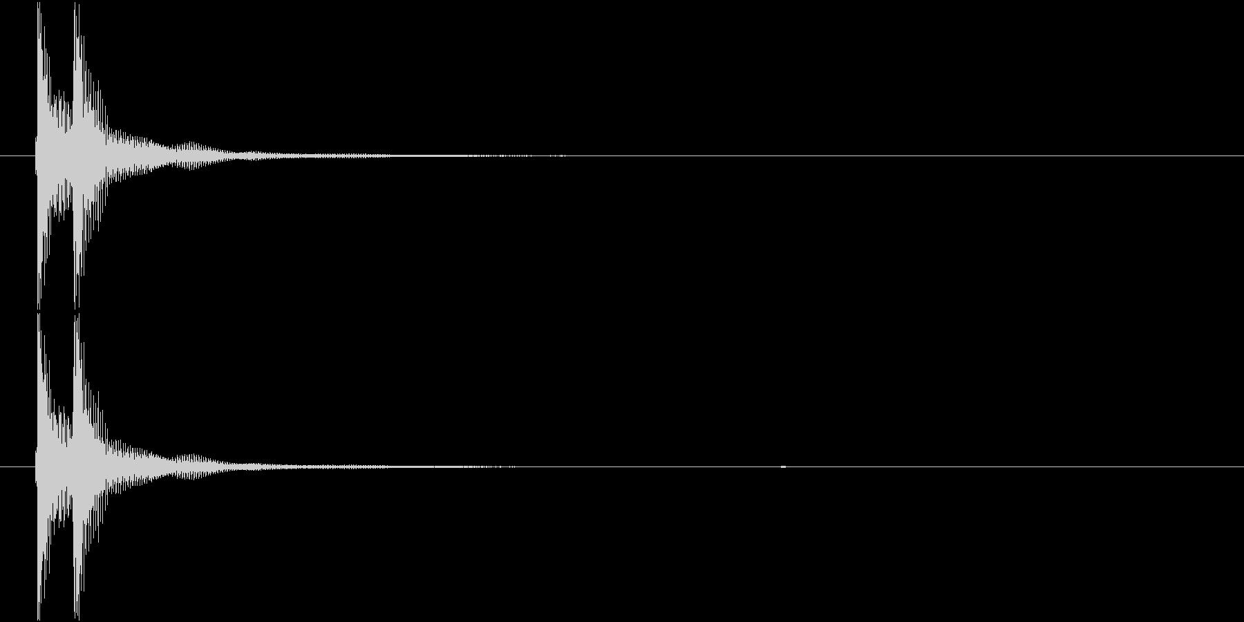 津軽三味線の生音(ジャジャーン、A和音)の未再生の波形