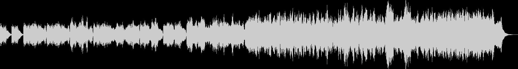 厳かで寂しげなBGM2 ループの未再生の波形