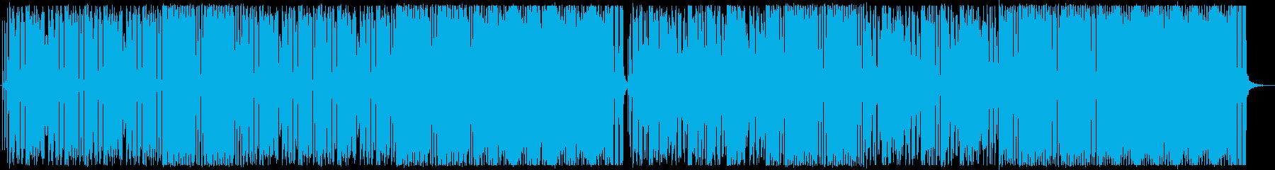 2管の能天気なJazzFunkの再生済みの波形