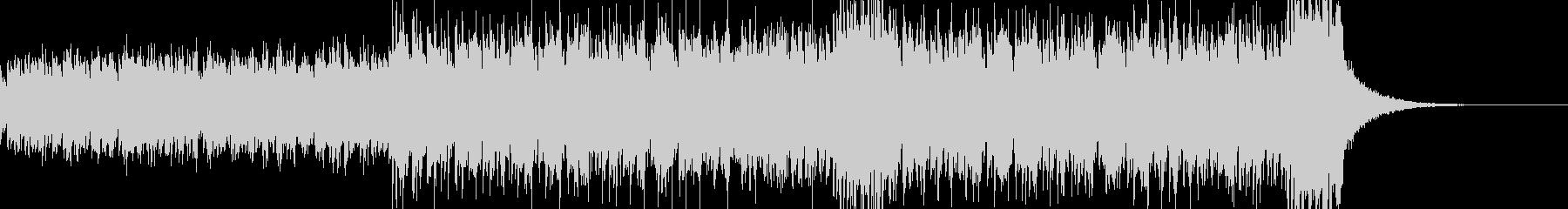 ショートBGM、シンセウェーブの未再生の波形