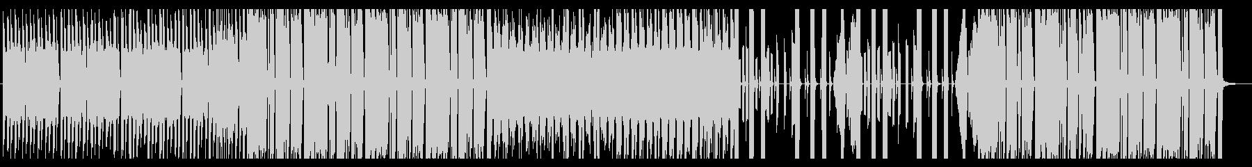 勢いのあるエレクトロハウスの未再生の波形
