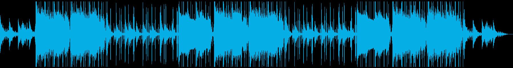 怪しげな雰囲気のあるR&Bの再生済みの波形