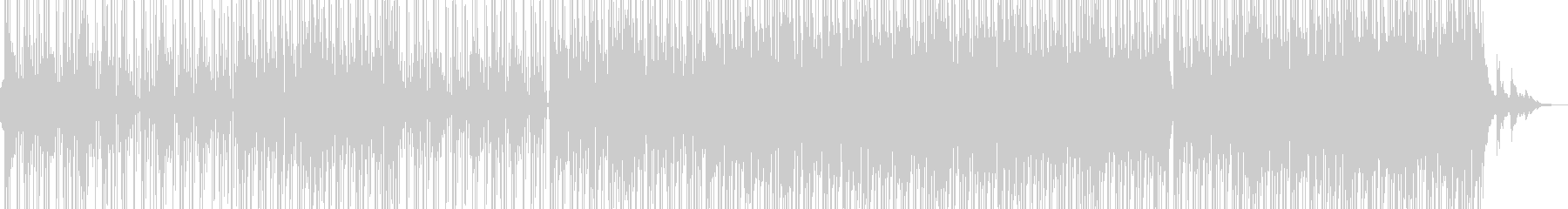 サックスのメロウな雰囲気漂うR&B Cの未再生の波形