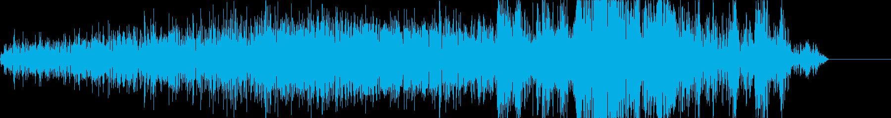 モーターや機械、ロボットなどの駆動音の再生済みの波形
