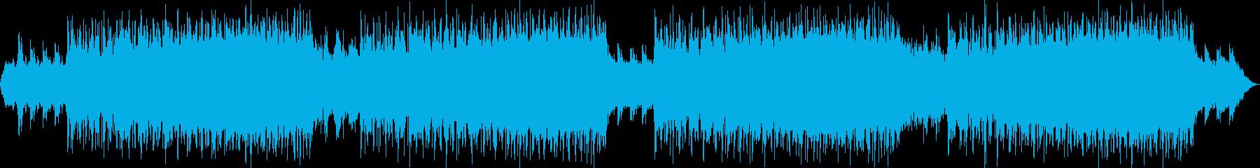 ホラーゲーム/映画のオープニングBGMの再生済みの波形