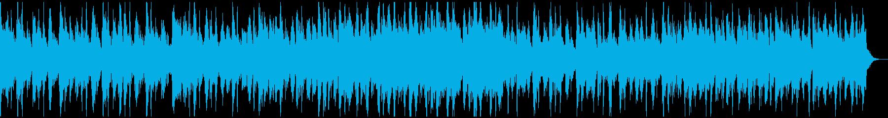 プラスの陽気なラテン 30秒タイプの再生済みの波形