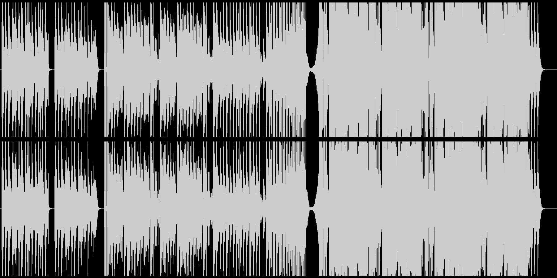 CM(ジングル)向け 過激なブラスの未再生の波形