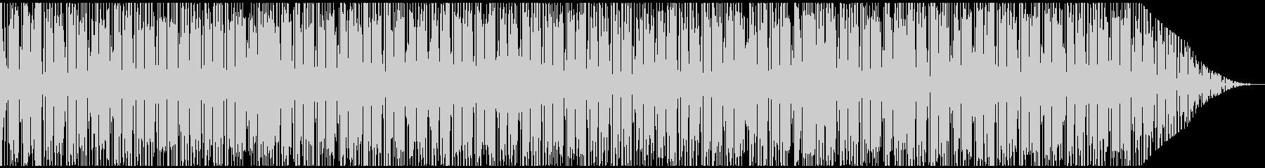 トロピカルな雰囲気のレゲエBGMの未再生の波形