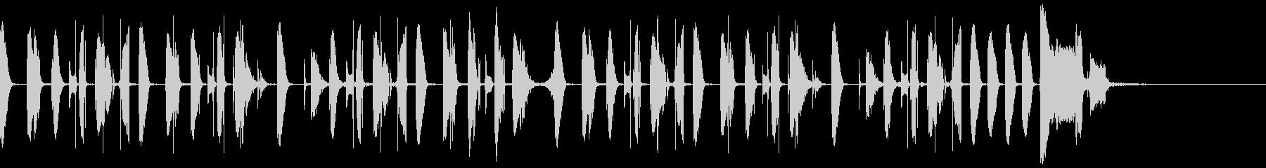 シンキングタイムなどに使えるジングルの未再生の波形
