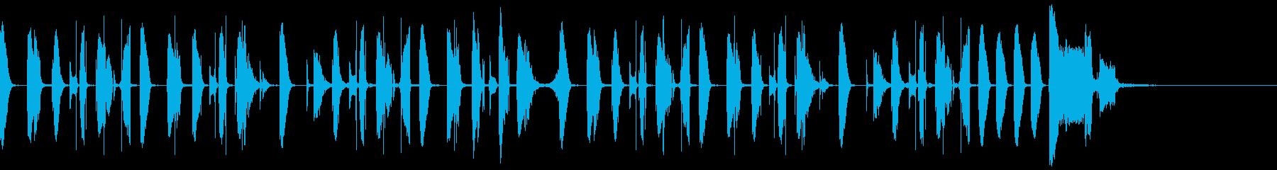 シンキングタイムなどに使えるジングルの再生済みの波形