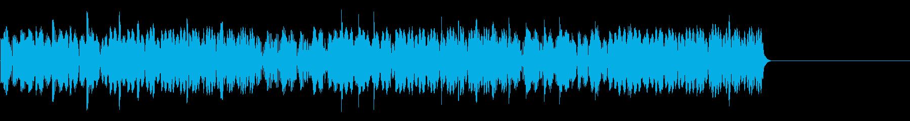 ゲームセンターのクレーンゲームの音 3回の再生済みの波形