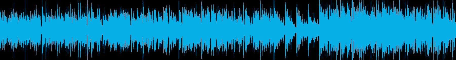 優雅/フランス映画風BGM/ループ可能の再生済みの波形