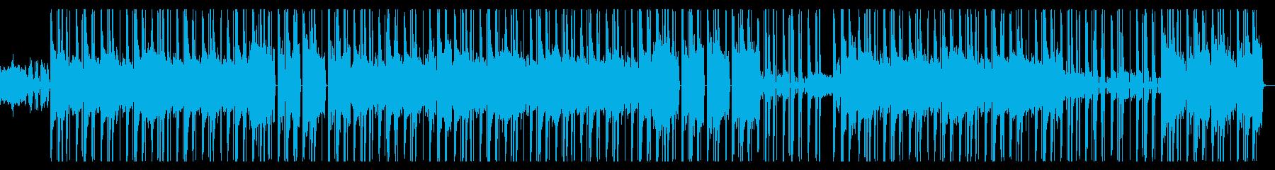 先鋭的 浮遊感 ヒップホップ トラップの再生済みの波形