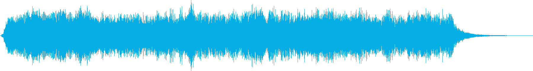 クラシカルな雰囲気のストリングスジングルの再生済みの波形