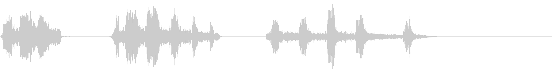 マラード、3バージョン、バード; ...の未再生の波形