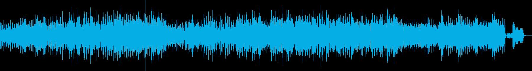 アーバンで透明感のあるボサノアヴァの再生済みの波形