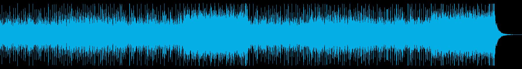 ニュース番組の解説BGM 無機質の再生済みの波形