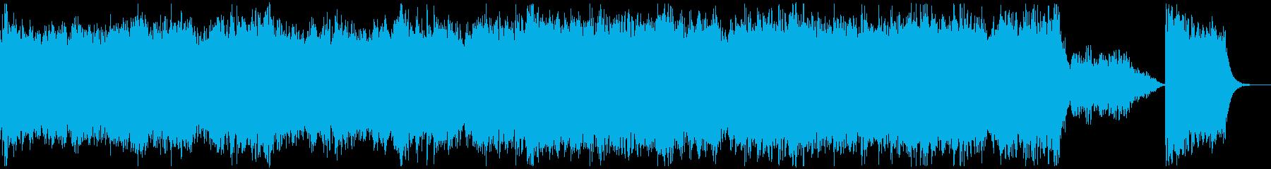 オープニングに合う壮大なオーケストラの再生済みの波形
